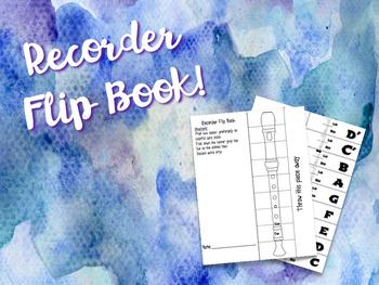 Recorder Flip Book