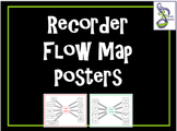 Recorder Flow Maps with Bonus Poster