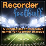 Recorder Football, 5 Games for Teaching Recorder {BUNDLED SET}
