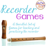 Recorder Game Club {A Bundled Set of Games for Practicing Recorder, 2016}