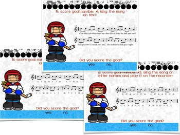 Recorder Hat Trick: an interactive game for Recorder Practice C'BAG