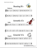 Recorder Interactive BAG Songs 1–Three Recorder Songs with Performance Tracks