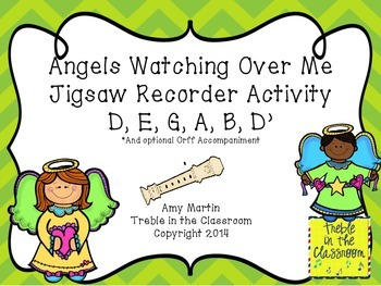 Recorder Jigsawing Activity (D,E,G,A,B,D') and Orff Part: All Night, All Day