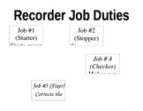 Recorder Job Duties