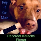 Recorder Karaoke - Pierrot with Mysterious World Music Gro