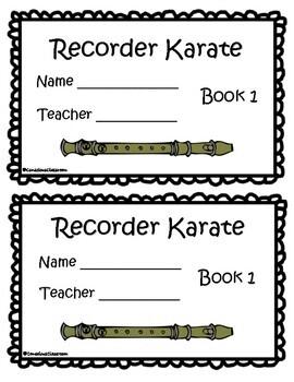 Recorder Karate Book 1 - Sol, Mi, La start
