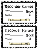 Recorder Karate Book 3 - Sol, Mi, La Start
