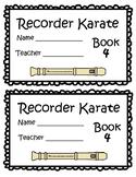 Recorder Karate Book 4 - Sol, Mi, La Start