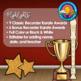 Recorder Karate Editable Award Certificates