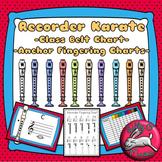 Recorder Anchor Charts