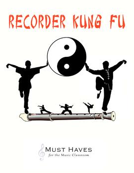 Recorder Kung Fu - Full Set of 4 Levels