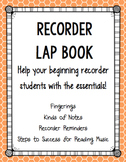Recorder Lapbook