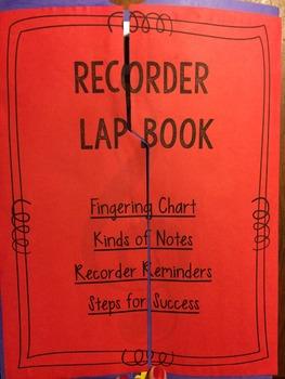 Recorder Lapbook