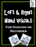 Recorder Left and Right Hand Visuals
