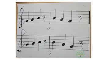Recorder Lesson 3 Materials