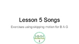 Recorder Lesson 5 Songs