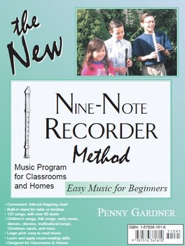 Recorder Lessons for Beginners from The Nine-Note Recorder Method