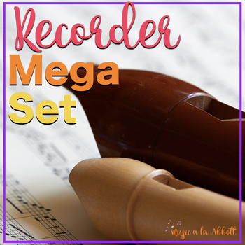 Recorder MEGA Set!!!