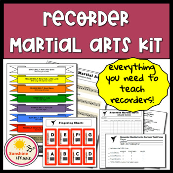 Recorder Martial Arts Kit