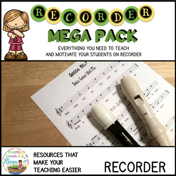 Recorder Mega Pack - Complete BUNDLE #BTSmusiccrew