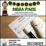 Recorder Mega Pack Complete Bundle #musiccrewrecorder