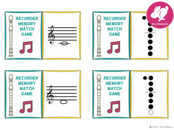 Recorder Centers Matching Game