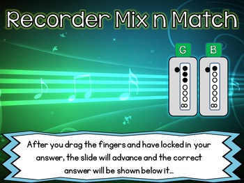 Recorder Mix n Match