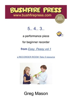 Recorder Music: Beginners - 5.. 4.. 3..