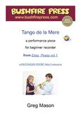 Recorder Music: Beginners - Tango de la Mere