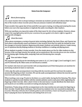 Recorder/iPad DANCIN' FEET (Disco Accompaniment Included)