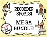 RECORDER SPORTS MEGA BUNDLE!