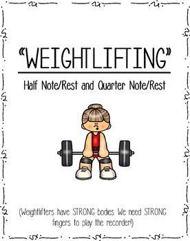 Recorder Weightlifting Method Book - FREEBIE!