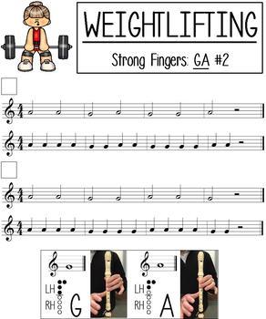 Recorder Weightlifting Method Book Freebie By Rockin Around The