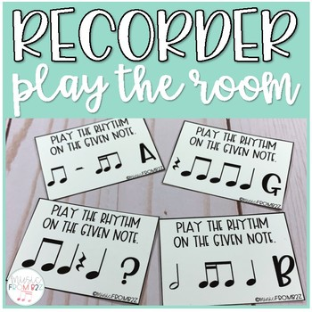 Recorder Play the Room BAG