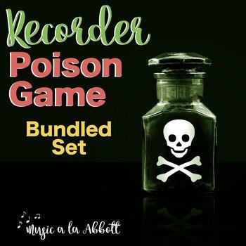 Recorder Poison Games {BUNDLED SET}