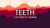 Recorder - Pop Song Series - 5 Seconds of Summer - Teeth - Arrangement