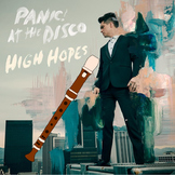 Recorder - Pop Song Series - Panic at the Disco - High Hopes - Arrangement