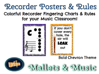 Recorder Posters & Rules
