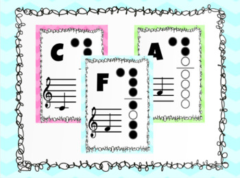 Recorder Posters & Rules - Pastel Colors