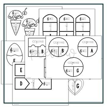 Recorder Puzzles Bundle