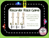 Recorder Race Game - B A G