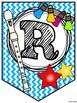 Recorder Rock Stars Pennant/Banner - PDF Edition (Printable) - BLUE CHEVRON