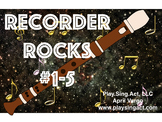 Recorder Rocks Lessons 105