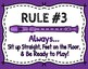 Recorder Rules - 12 Posters (Color & Black/White)