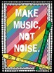 Recorder Rules -16 rainbow posters