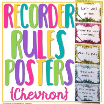 Recorder Rules {Ombre Chevron}