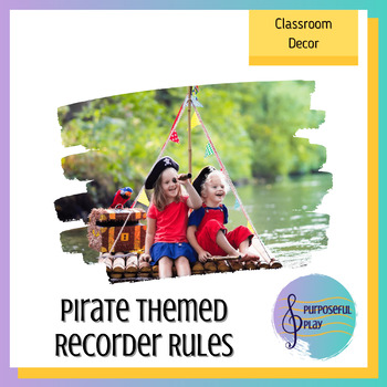Recorder Rules - Pirate Theme