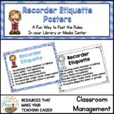 Recorder Etiquette