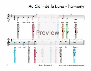 clair de lune original sheet music pdf