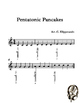 Recorder Song Writing C Pentatonic Scale Fun Beginner to Adv.